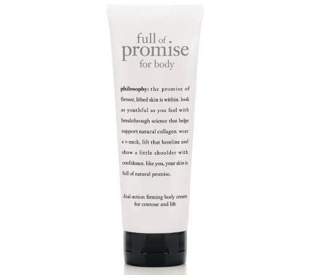 philosophy full of promise body cream, 7.8 oz