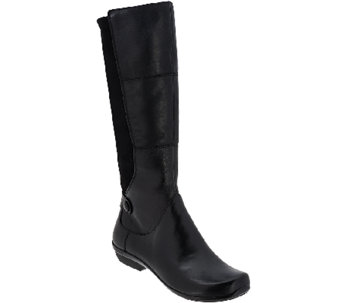 Dansko Leather Tall Shaft Boots - Odette - A268684
