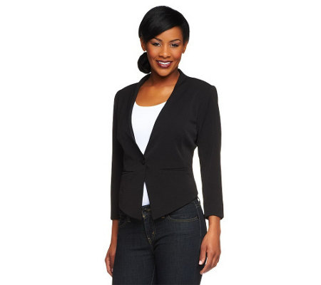 """As Is"" Mark of Style by Mark Zunino Blazer with Pockets"
