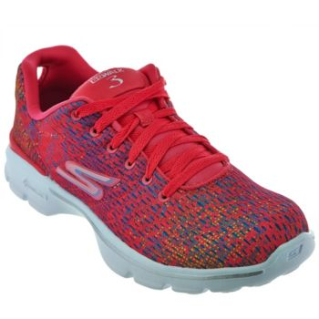 Skechers GO Walk 3 Printed Lace-up Sneakers - Digitize