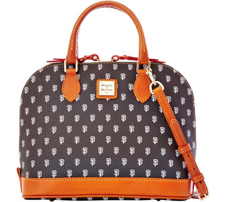 Dooney & Bourke MLB Giants Zip Zip Satchel