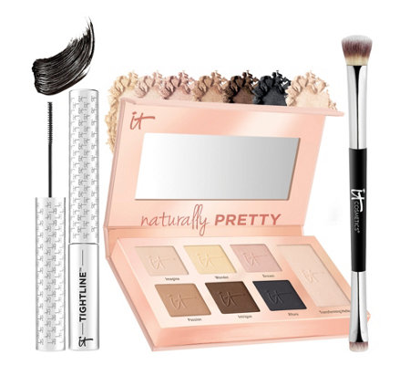 IT Cosmetics IT's Your Naturally Pretty 3-piece Eye Essentials