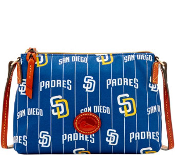 Dooney & Bourke MLB Nylon Padres Crossbody Pouchette - A281584