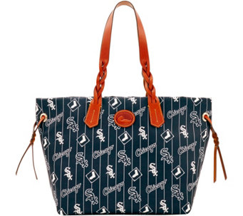 Dooney & Bourke MLB Nylon White Sox Shopper - A281684