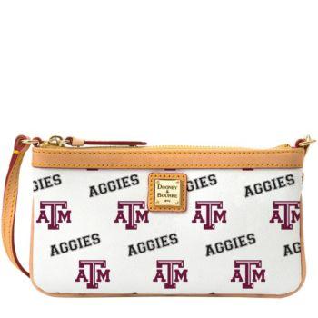 Dooney & Bourke NCAA Texas A&M University Slim Wristlet