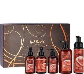 WEN by Chaz Dean Classic 5-Piece Gift Set - A284384