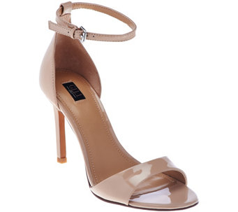 """As Is"" G.I.L.I. Leather Ankle Strap Sandals - Colby - A286484"
