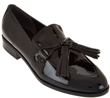 """As Is"" Marc Fisher Oxford Shoes with Tassel Detail - Envy"