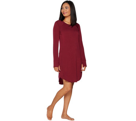 Cuddl Duds Comfortwear French Terry Long Sleeve Lounger