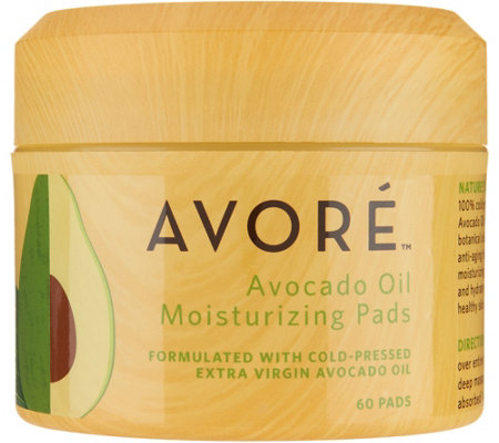 AVORE Avocado Oil Moisturizing Pads