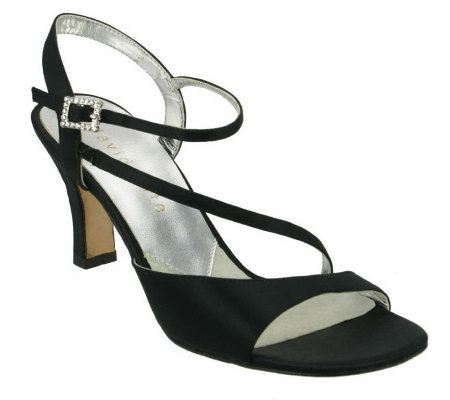 David Tate Beverly Dress Satin Sandals