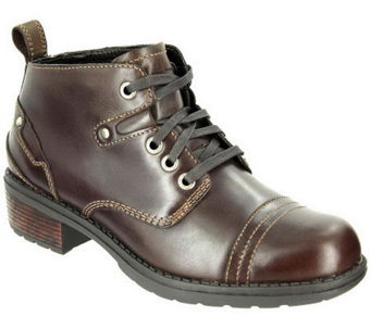 Eastland Leather Lace-up Ankle Boots - Overdrive - A325784