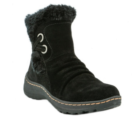 BareTraps Cold Weather Short Leather Ankle Boots - Adalyn