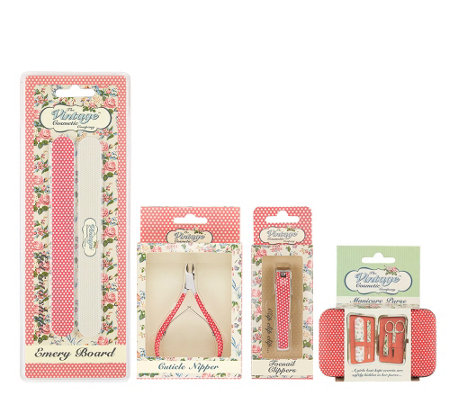 The Vintage Cosmetic Company Rosie Spot Set