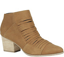 Sole Society Mid Heel Ankle Booties - Sparrow - A357584
