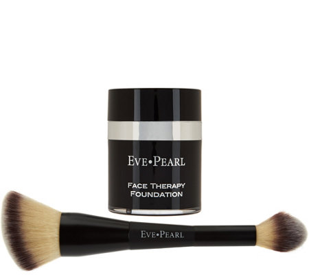 EVE PEARL Face Therapy Foundation & 203Finishing Brush