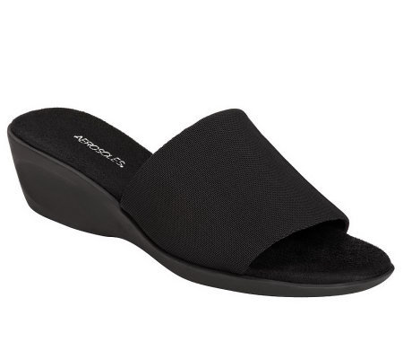 Aerosoles Badminton Wedge Slide Sandals