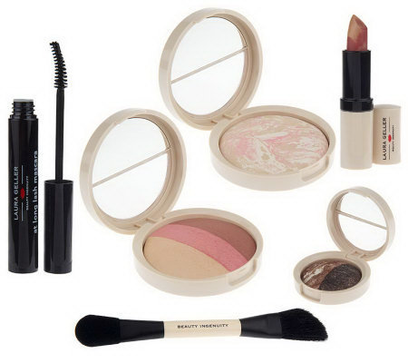 Laura Geller Vanilla Nudes 6-piece Baked Collection