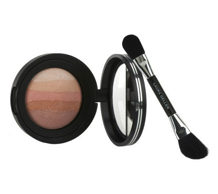 Laura Geller Ombre Baked Blush with Brush