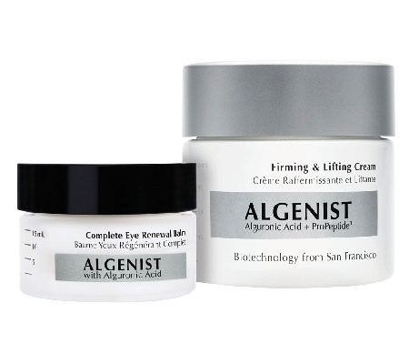 Algenist Firming Cream & Eye Renewal Balm