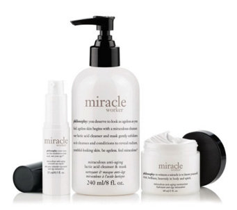 philosophy miracle worker advanced anti-aging skincare trio - A234285