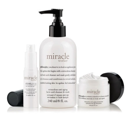 philosophy miracle worker advanced anti-aging skincare trio
