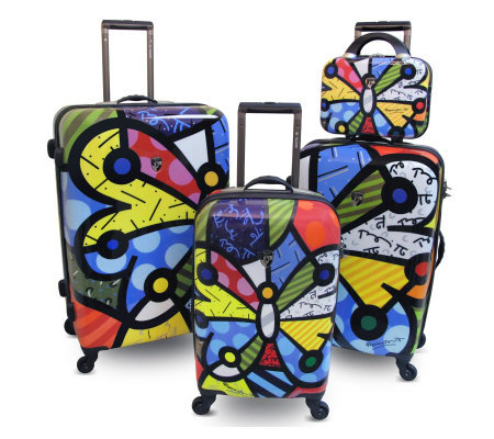 Heys Britto Collection Butterfly 4 PieceSet