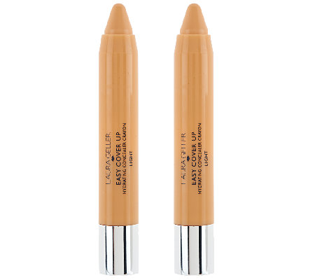 Laura Geller Easy Cover Up Hydrating Conceal Crayon Duo
