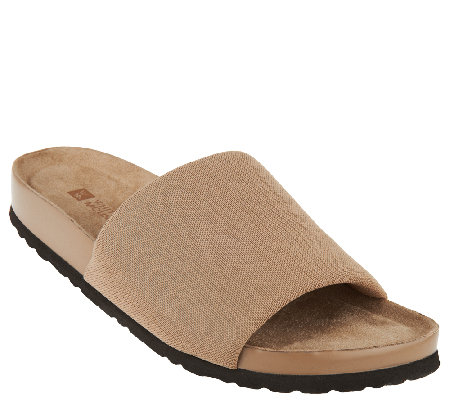 White Mountain Slip-on Sandals - Helium