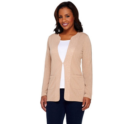 Kelly by Clinton Kelly Cardigan with Front Pockets