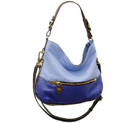 """As Is"" orYANY Ellie Italian Leather Hobo"