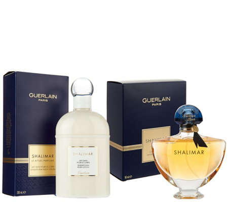 Shalimar Eau de Parfum and Body Lotion Fragrance Layering Duo