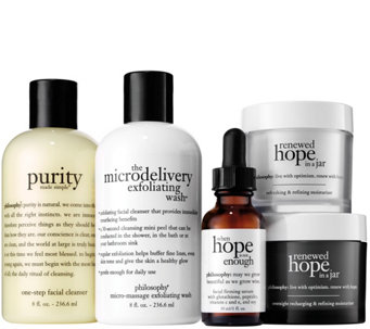 philosophy 5-piece skincare staples - A279585