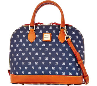 Dooney & Bourke MLB Yankees Zip Zip Satchel - A280085