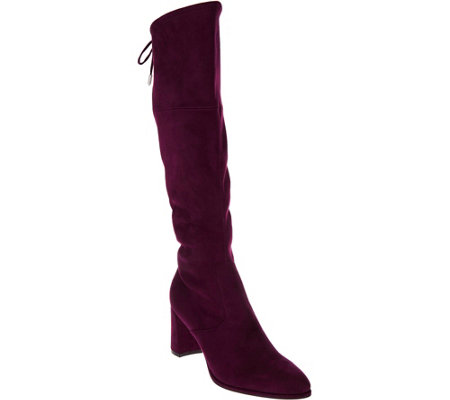 Marc Fisher Faux Suede Tall Shaft Boots - Lupo