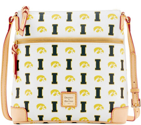 Dooney & Bourke NCAA University of Iowa Crossbody