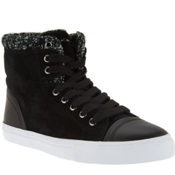 Isaac Mizrahi Live! SOHO Sneakers with Sweater Knit Detail