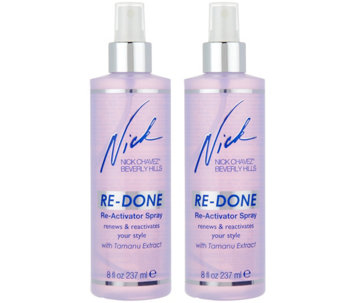 Nick Chavez RE-DONE Reactivating & Volumizing 8 oz. Spray Duo - A286785