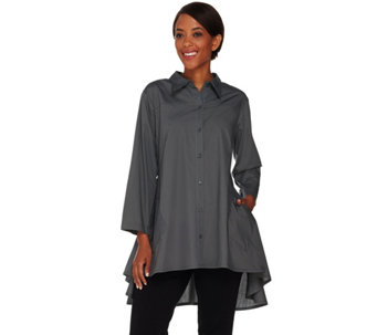 Joan Rivers Athena Swing Style Shirt - A287385