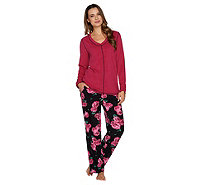 Stan Herman Micro Fleece Novelty Pajama Set - A294385