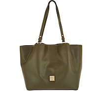 Dooney & Bourke Saffiano Leather Shoulder Bag -Flynn - A296685