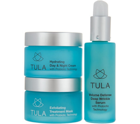 TULA by Dr. Raj 3-Piece Probiotic Skin Care Essentials Kit