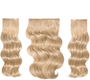 Wigs extensions hair care beauty qvc bellami bell air 16 volumizing hair extensions a307585 pmusecretfo Gallery