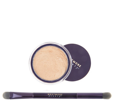 Westmore Beauty Magic Effects Powder to Cream Concealer with Brush