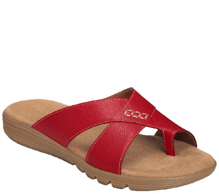 Aerosoles Core Comfort Slide Thong Sandals - Adjustment