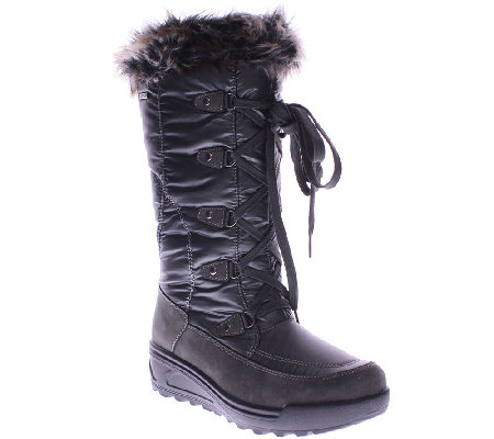 Spring Step Nylon Winter Boots with Lug Outsole- Northridge