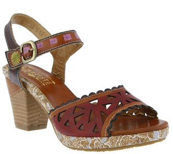 Spring Step L'Artiste Leather Sandals - Acela - A339585
