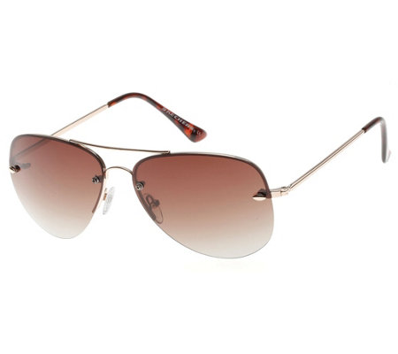 Skechers Women's Polarized Aviator Sunglasses