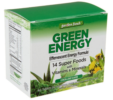 Garden Fresh Greens or Berry Effervescent Tablets Auto-Delivery