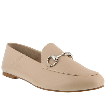 Azura by Spring Step Leather Slip-on Loafers -Emeka